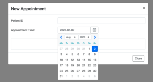 DatePicker in Angular from NgbModule